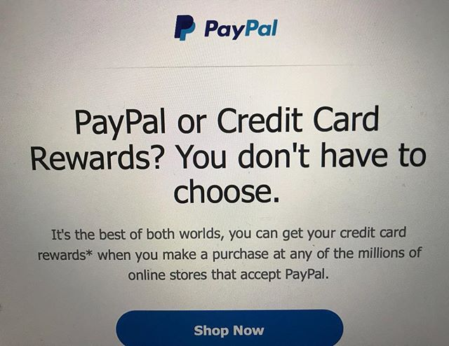 Who accepts paypal credit online
