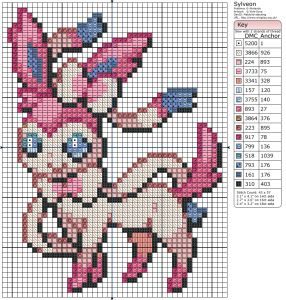 Pokémon – Sylveon Birdie's Patterns, Gaming, Pokémon, Sylveon 0 Comments Aug 282013