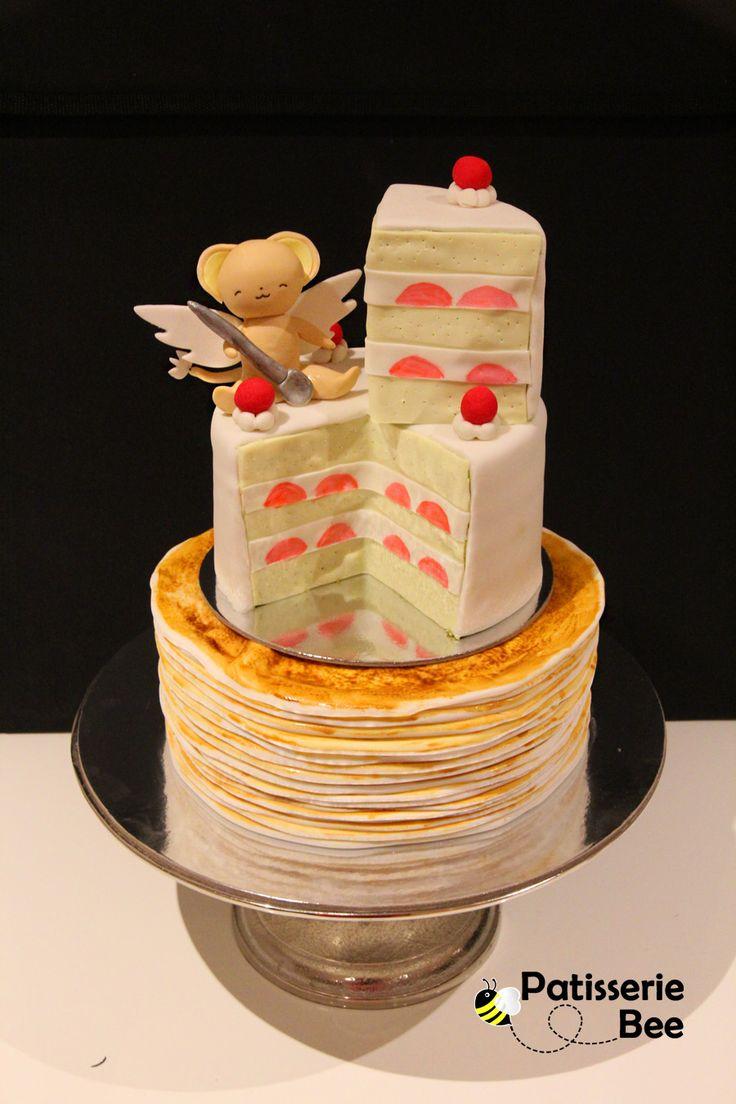 Sakura Card Captor Birthday Cake