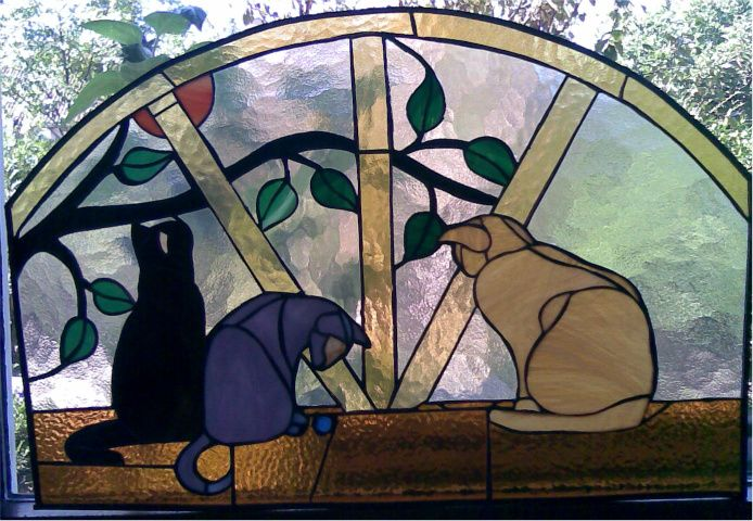 Cats!!! ( Stained Glass)