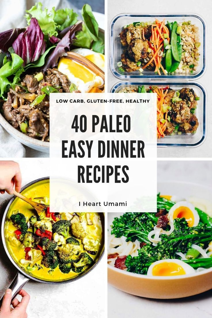 40 Easy Paleo Dinner Recipes Paleo Thai Food Recipes