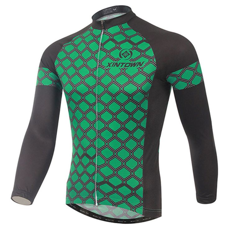 Xintown Men Cycling Jersey Winter Long Sleeve Cycling Clothing Ropa invierno Ciclismo Mountain Bike Jersey Tops Bicycle Clothing