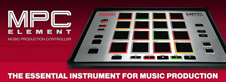 "Akai MPC Element  ""Make no mistake:these are the finest feeling drum pads we've experienced at this price or anything near it""  АРТИСТ ЦЕНА : 9.600,oo ден"