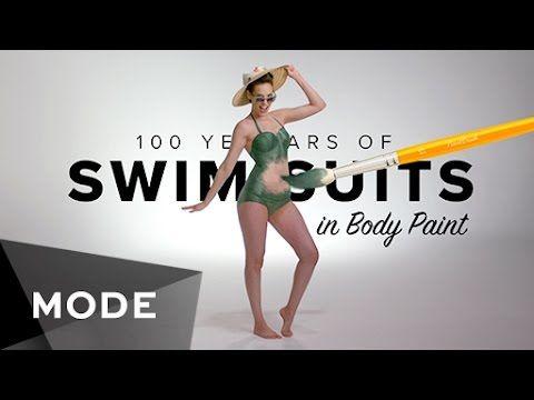 Vücut Boyama Tekniği ile Mayonun 100 Yıllık Evrimi