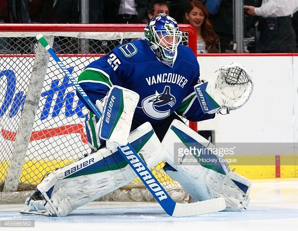 jacob markstrom vancouver canucks - Google Search