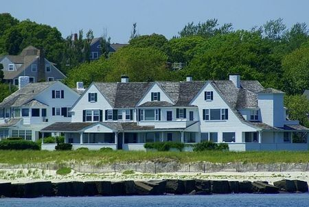 The Kennedy Compound in Hyannis Port, Massachusetts