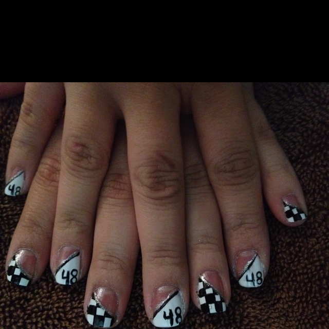 My daughter Rayven just did this design for NASCAR race tnrw! Great job!!!