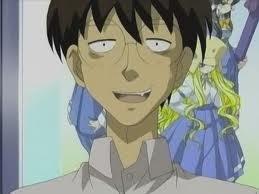Haranobu Madarame, a character from Genshiken