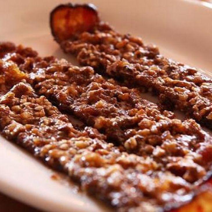 Zippy Praline Bacon Recipe | Bacon Nom Noms | Pinterest