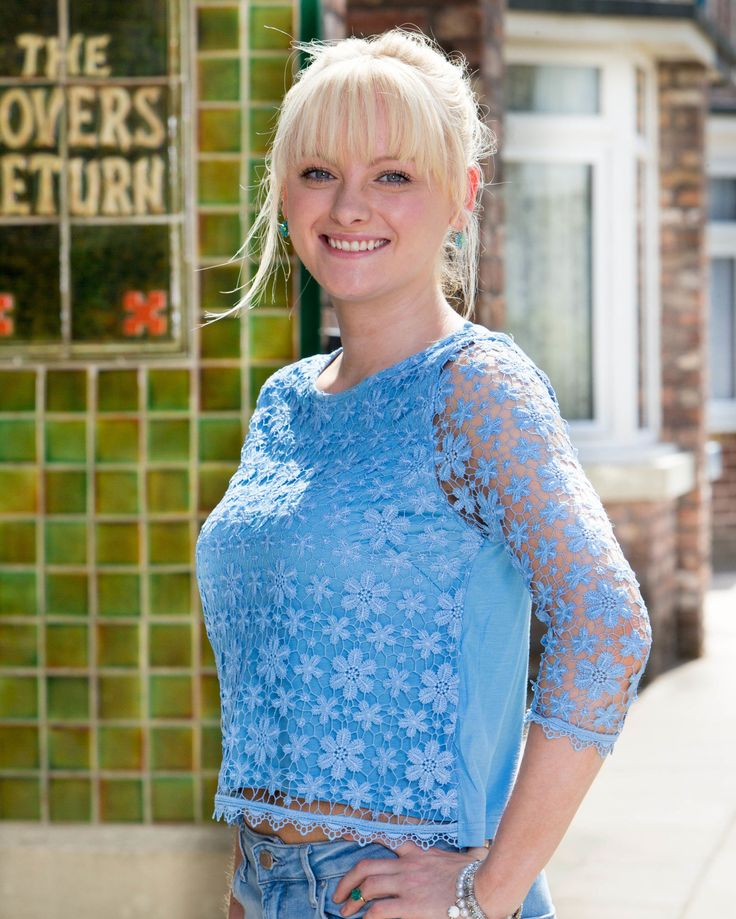 Coronation Street: Here's your first look at Sinead Tinker's wedding dress as she prepares to marry Chesney  - DigitalSpy.com