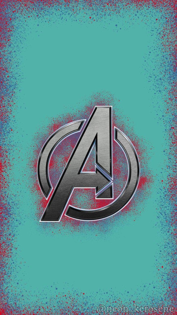 Avengers Logo Phone Background Phone Wallpaper Marvel Background Avengers Logo Backgrounds Phone Wallpapers
