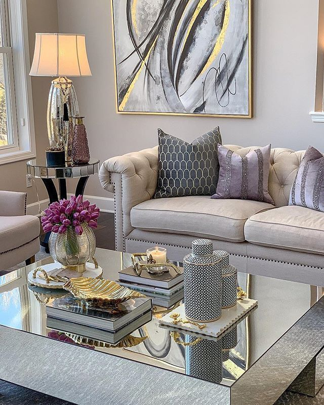 42 Very Cozy And Practical Decoration Ideas For Small Living Room Isabellestyle Blog Living Room Designs Living Room Decor Apartment Apartment Living Room #small #glam #living #room