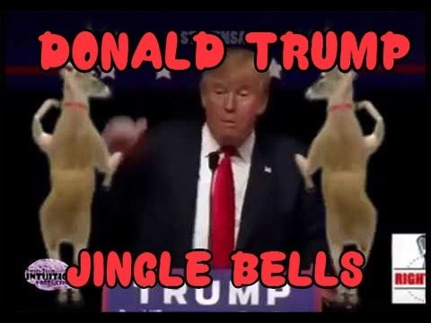DONALD TRUMP CHRISTMAS SONG BING BONG REMIX jingle bells compilation president build a wall - YouTube