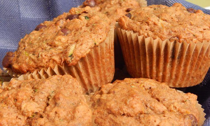 Zucchini Chocolate Chip Einkorn Muffins | Anita's Organic Mill