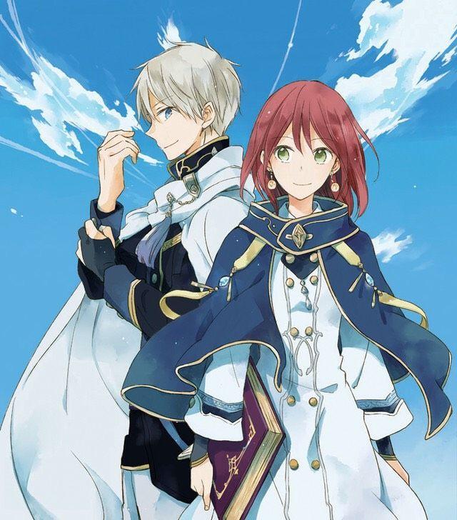 Shirayuki & Zen , beginning the brand new manga that my good friend beneficial me 😊❤…..