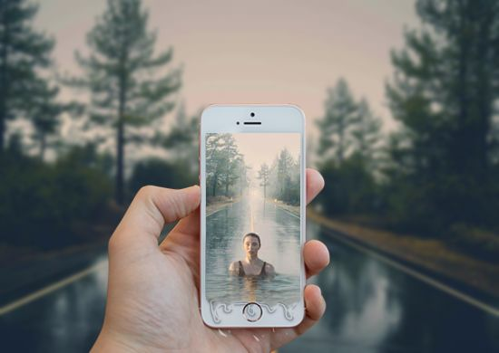create 3D photo effect in Photoshop #photoshoptutorial