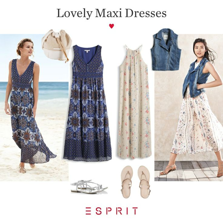 We <3 maxi #dresses! When the #sun is shining and the temperatures rise we love to put on long, flowing dresses with #beautiful #patterns.