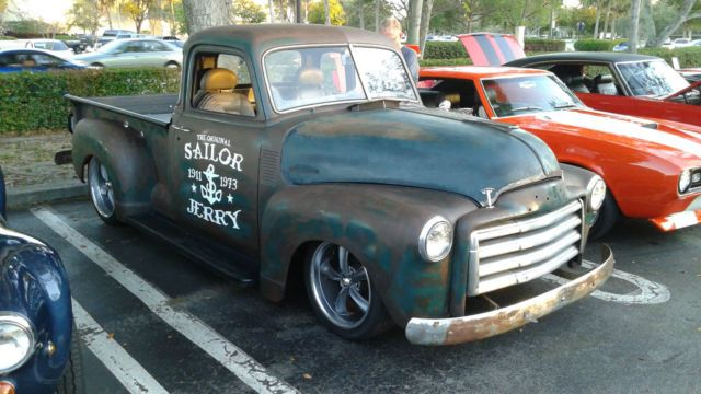 Lifted Chevy Trucks For Sale >> 1948 Chevrolet Chevy 3100 Thriftmaster S10 Resto Rat Hot Rod Pickup truck 350 for sale in ...