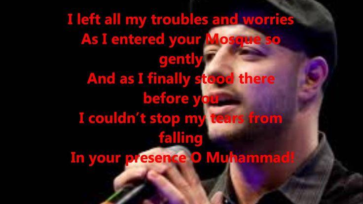 maher zain assalamualaika ya rasullullah lyrics