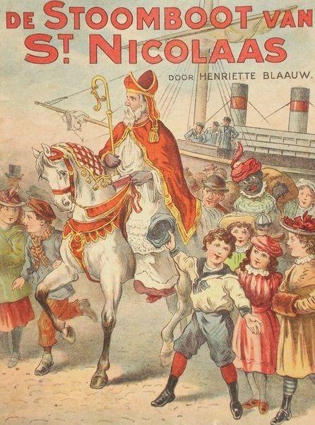 De stoomboot van St. Nicolaas, Blaauw, Henriëtte 1890