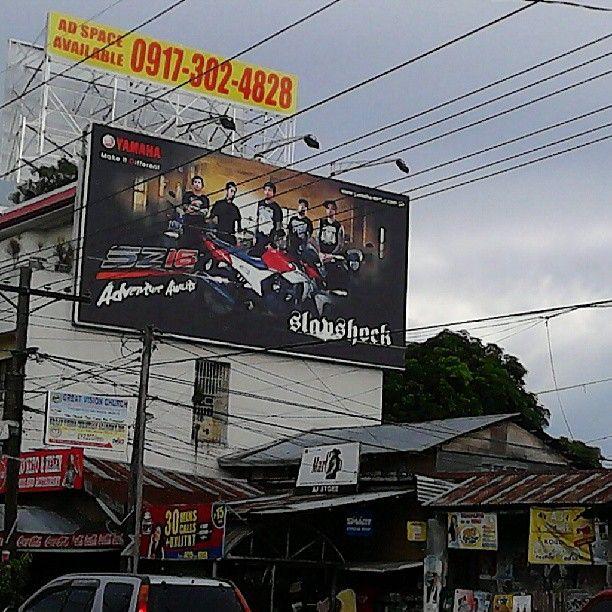 youngbeezygirl 6日前 · Mandurriao, Iloilo City #slapshock #billboard #iloilo for you ng awe :)