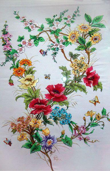 Цветы .Работа Кучко Раисы Дмитриевны