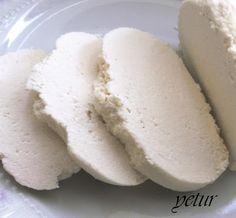 kaymak lezzetinde tatlı lor yapımı