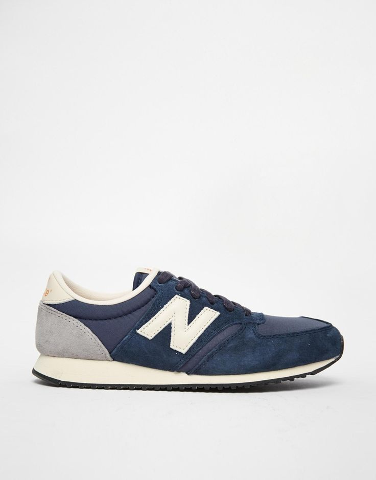 // New Balance 420 Navy Vintage Sneakers.