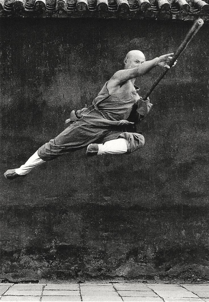 "SHAOLIN: ""Bow and Arrow.Crouching Cat."" On and on the instructor calls the stances. ""Three Pillars. Seven Stars."" There's a lot of counting. We bend our legs and count. We stretch back and count. We count the minutes till its over. - Samurai Kids 3:Shaolin Tiger"