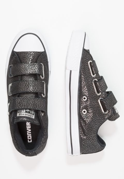 097f1d5fbae0 CHUCK TAYLOR ALL STAR 3V - Sneakers laag - black silver white ...