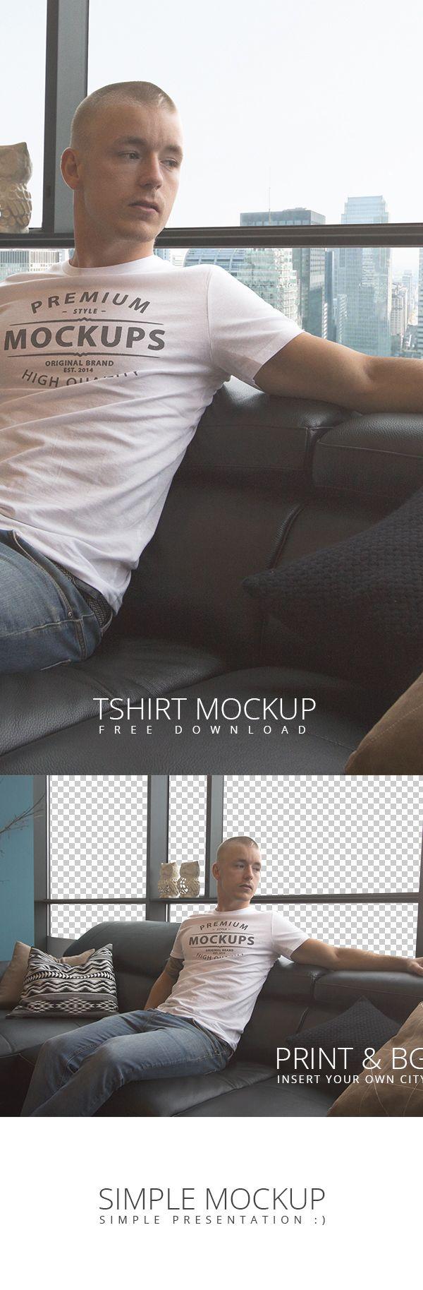 T-shirt design kit free download - T Shirt Psd Mockup Free Download