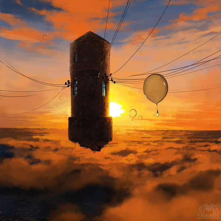 Watertower by alexandreev.deviantart.com on @deviantART