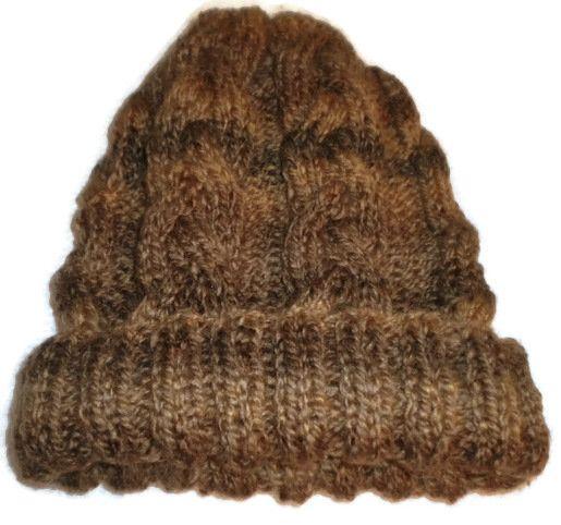 Czapka damska zimowa - Edyta-86 - Czapki na drutach