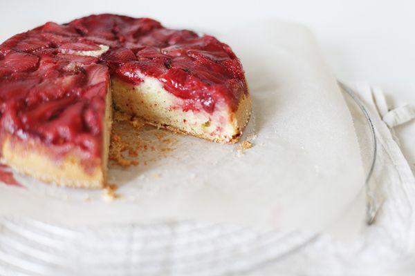 Чадейка - Перевернутый сливочный кекс с клубникой