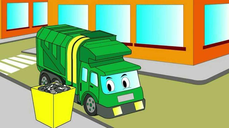 ћультики про мусоровоз и спецтехнику спецтехника в аренду подольск