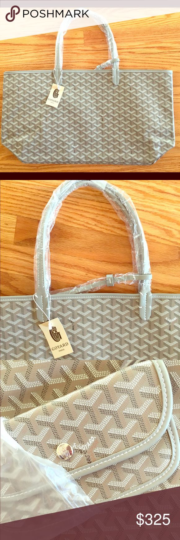 Goyard tote, Color: grey + tan, Size: GM (large) Brand new never worn, in packing, Goyard tote. Goyard Bags Totes