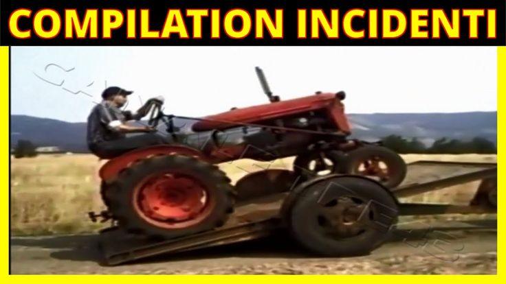 Compilation Incidenti Pazzeschi Mezzi Agricoli e non solo