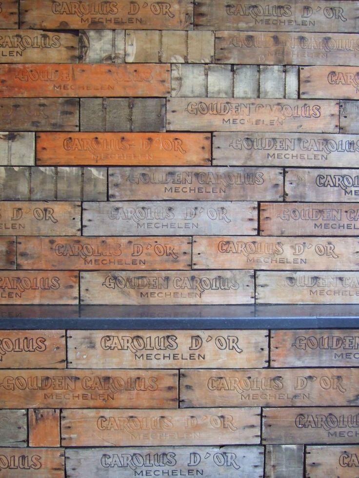 houten bakken het Anker