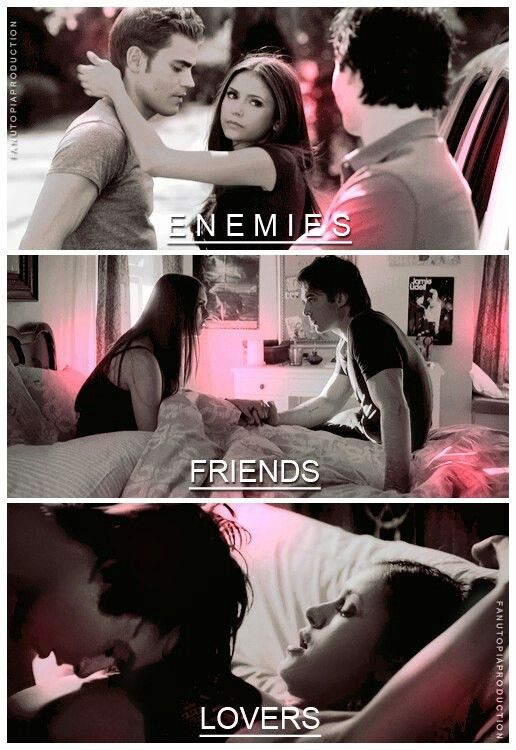 Delena | from enemies to lovers