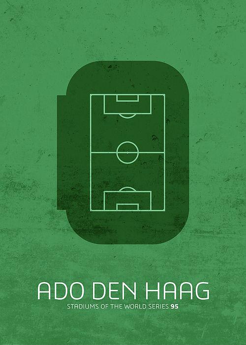 Ado Den Haag Stadium Football Soccer Minimalist Series By Design Turnpike In 2020 Futbol Soccer Soccer Soccer Poster