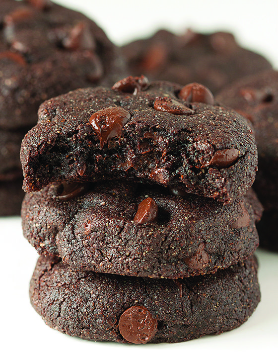 This chocolate brownie cookie recipe gets a dense fudgy goodness from using buckwheat flour. Bonus: It's gluten-free!