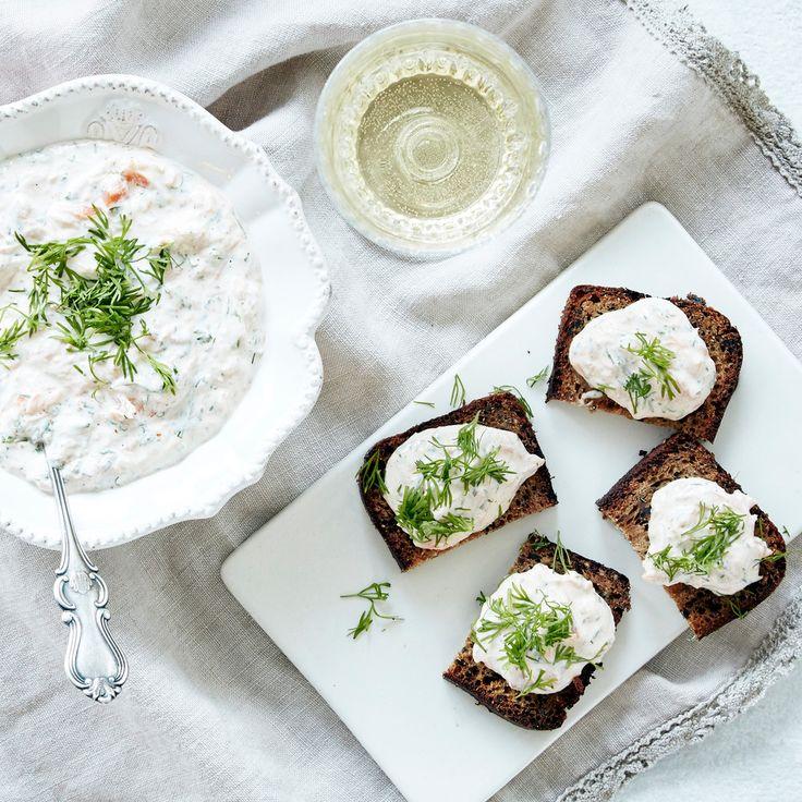 Savukalamousse | K-ruoka #joulu #kalapöytä