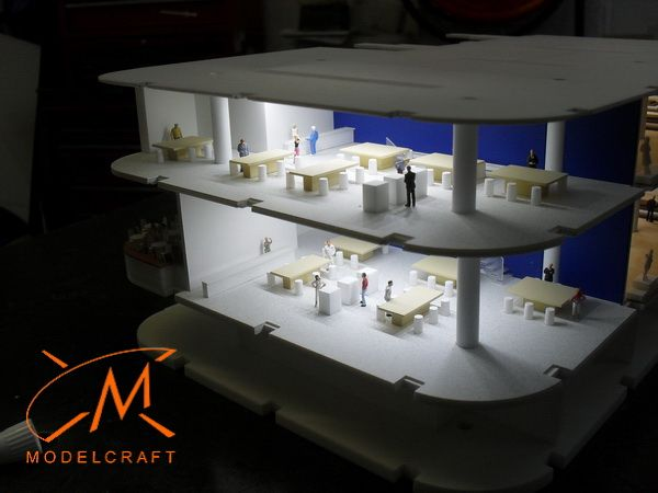 1:150 Interior Architectural Model by Modelcraft (NSW) Pty Ltd