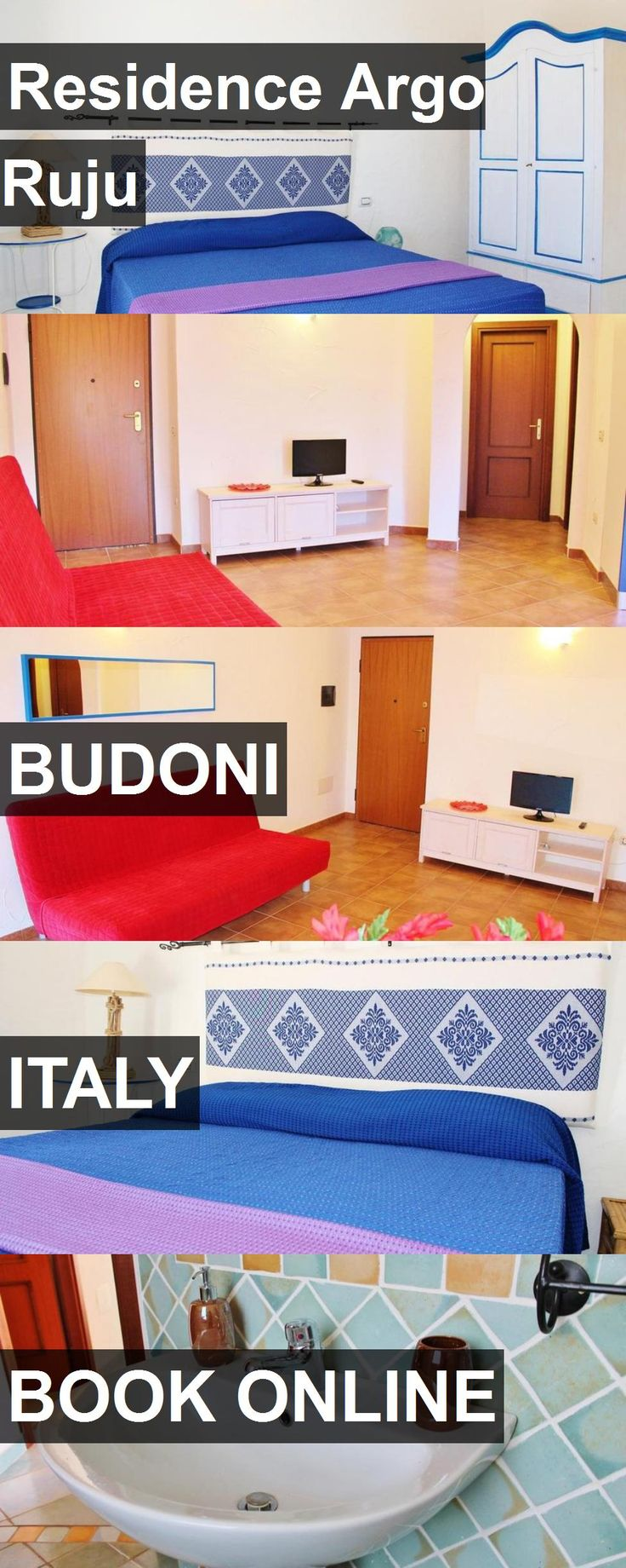 Hotel Residence Argo Ruju in Budoni, Italy. For more information, photos, reviews and best prices please follow the link. #Italy #Budoni #travel #vacation #hotel