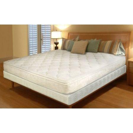 queen 11inch thick innerspring pillow top mattress in a box
