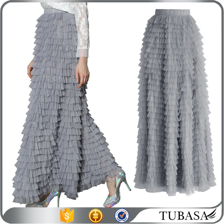 Check out this product on Alibaba.com APP 2016 Long Tulle Skirts High End Solid Tulle Skirt For Women Custom Made