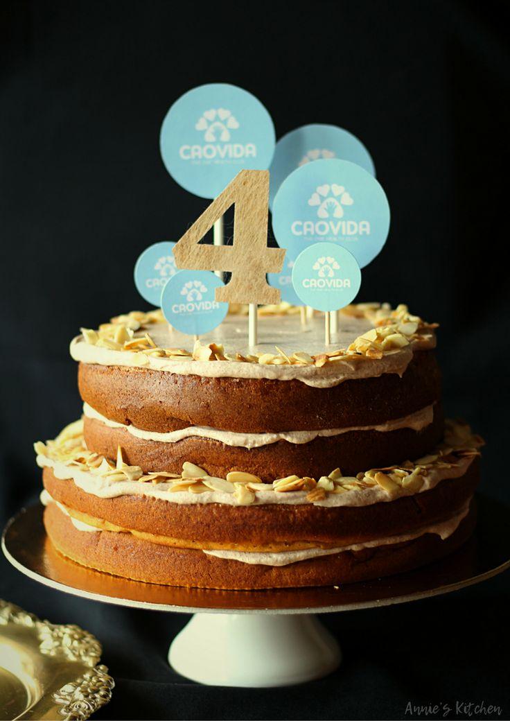 Receita de um bolo saudável de abóbora, canela e côco!