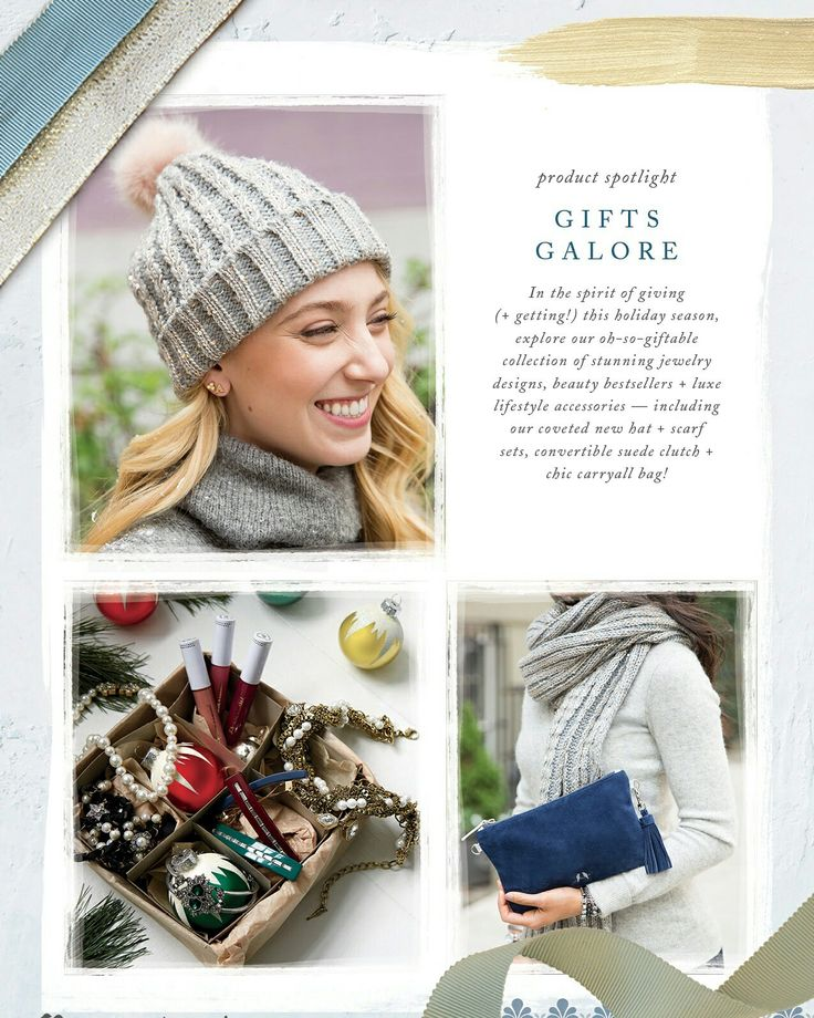 Besides jewelry we also have winter accessories + beauty products that make great gifts or stocking stuffers. You can shop them all online atwww.chloeandisabel.com/boutique/thecelticpearl   #Holiday #Christmas #Gifts #StockingStuffers #Winter #Beauty #jewelry #accessories #fashion #style #Home #Bags #shopping #shop #trendy #trending #trend #trends #boutique #chloeandisabel #thecelticpearl #lifetimeguarantee #buy #online #Scarves #Hats #Candle #perfume