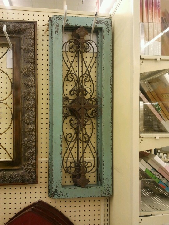i have these in my dinning room window panes hobby lobby would be super cute as shutters hung next to the interior window frame on each side
