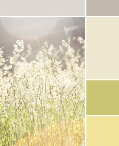 light warm pastel :: yellow or green color for my kitchen!